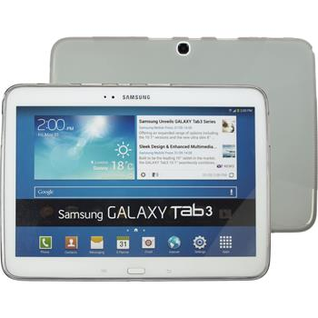 Silicone Case for Samsung Galaxy Tab 3 10.1 X-Style gray