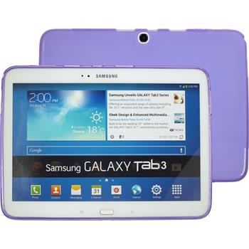 Silicone Case for Samsung Galaxy Tab 3 10.1 X-Style purple