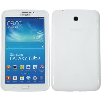 Silicone Case for Samsung Galaxy Tab 3 7.0 X-Style white