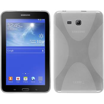 Silicone Case for Samsung Galaxy Tab 3 Lite 7.0 X-Style transparent