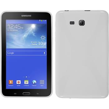 Silikon Hülle Galaxy Tab 3 Lite 7.0 X-Style weiß