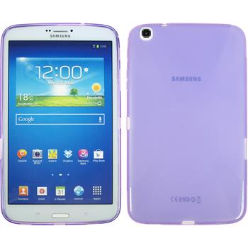 Silicone Case for Samsung Galaxy Tab 3 8.0 X-Style purple