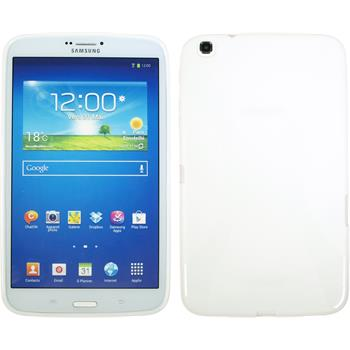 Silicone Case for Samsung Galaxy Tab 3 8.0 X-Style white