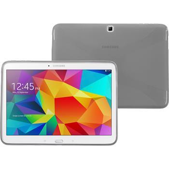 Silikon Hülle Galaxy Tab 4 10.1 X-Style grau