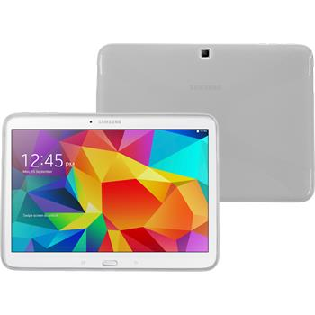 Silicone Case for Samsung Galaxy Tab 4 10.1 X-Style transparent