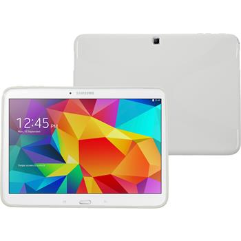 Silikon Hülle Galaxy Tab 4 10.1 X-Style weiß