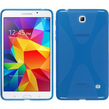 Silikon Hülle Galaxy Tab 4 7.0 X-Style blau