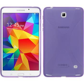 Silicone Case for Samsung Galaxy Tab 4 7.0 X-Style purple