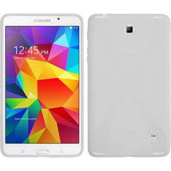 Silicone Case for Samsung Galaxy Tab 4 7.0 X-Style white