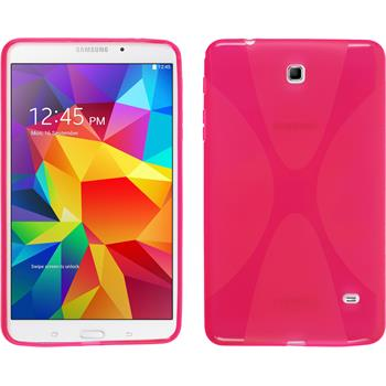 Silicone Case for Samsung Galaxy Tab 4 8.0 X-Style hot pink