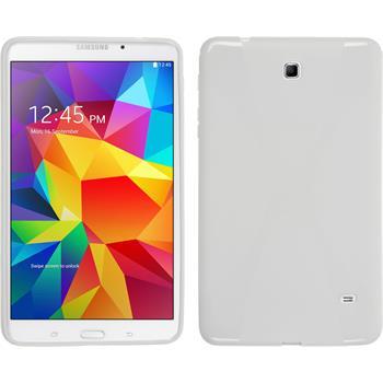 Silikon Hülle Galaxy Tab 4 8.0 X-Style weiß