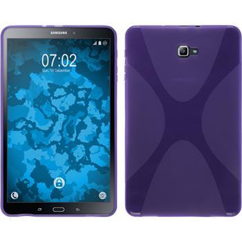Silikonhülle für Samsung Galaxy Tab A 10.1 (2016) X-Style lila
