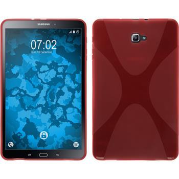 Silikon Hülle Galaxy Tab A 10.1 (2016) X-Style rot