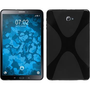 Silikon Hülle Galaxy Tab A 10.1 (2016) X-Style schwarz