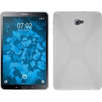 Silikon Hülle Galaxy Tab A 10.1 (2016) X-Style weiß