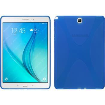 Silikon Hülle Galaxy Tab A 9.7 X-Style blau