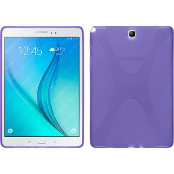 Silikon Hülle Galaxy Tab A 9.7 X-Style lila