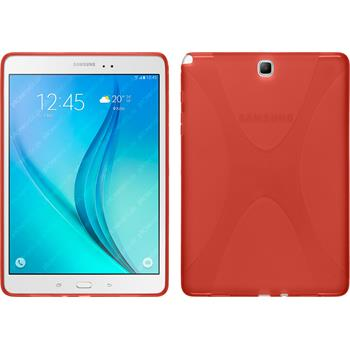 Silicone Case for Samsung Galaxy Tab A 9.7 X-Style red