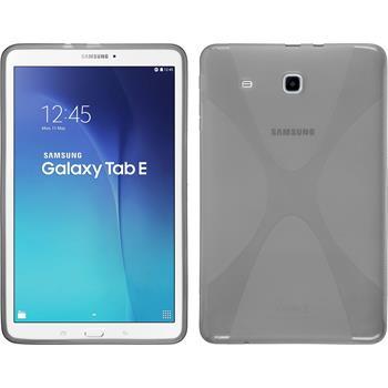 Silikon Hülle Galaxy Tab E 9.6 X-Style grau
