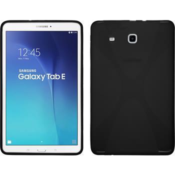Silikon Hülle Galaxy Tab E 9.6 X-Style schwarz