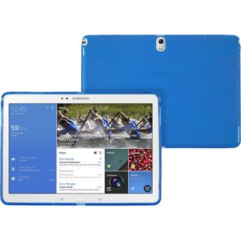 Silikon Hülle Galaxy Tab Pro 10.1 X-Style blau