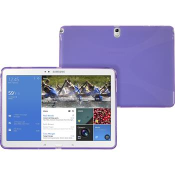 Silicone Case for Samsung Galaxy Tab Pro 10.1 X-Style purple