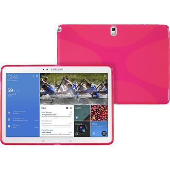 Silikon Hülle Galaxy Tab Pro 10.1 X-Style pink