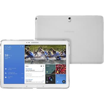 Silikon Hülle Galaxy Tab Pro 10.1 X-Style clear + 2 Schutzfolien