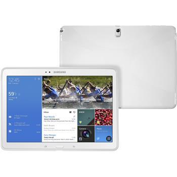 Silikon Hülle Galaxy Tab Pro 10.1 X-Style weiß