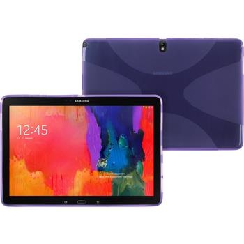 Silicone Case for Samsung Galaxy Tab Pro 12.2 X-Style purple