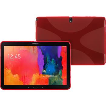 Silicone Case for Samsung Galaxy Tab Pro 12.2 X-Style red