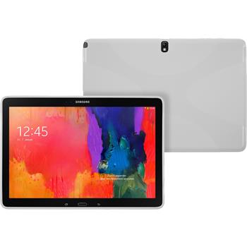 Silicone Case for Samsung Galaxy Tab Pro 12.2 X-Style white
