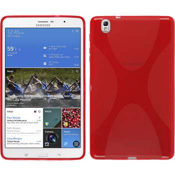 Silicone Case for Samsung Galaxy Tab Pro 8.4 X-Style red