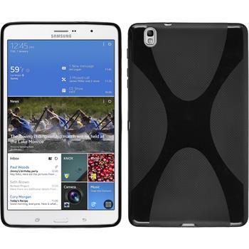Silikon Hülle Galaxy Tab Pro 8.4 X-Style schwarz