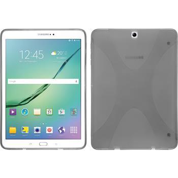 Silikon Hülle Galaxy Tab S2 9.7 X-Style grau