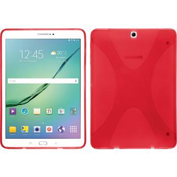 Silikon Hülle Galaxy Tab S2 9.7 X-Style rot