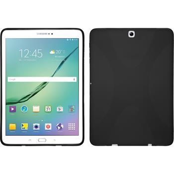 Silikon Hülle Galaxy Tab S2 9.7 X-Style schwarz