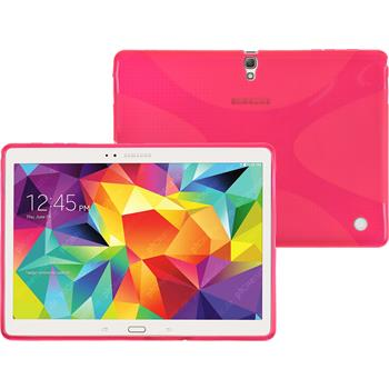 Silikon Hülle Galaxy Tab S 10.5 X-Style pink