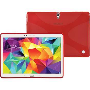 Silikonhülle für Samsung Galaxy Tab S 10.5 X-Style rot