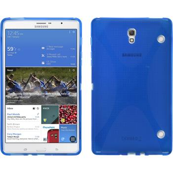 Silikon Hülle Galaxy Tab S 8.4 X-Style blau