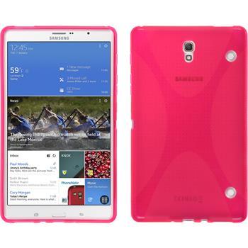 Silikonhülle für Samsung Galaxy Tab S 8.4 X-Style pink