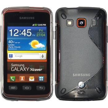 Silicone Case for Samsung Galaxy Xcover S-Style gray