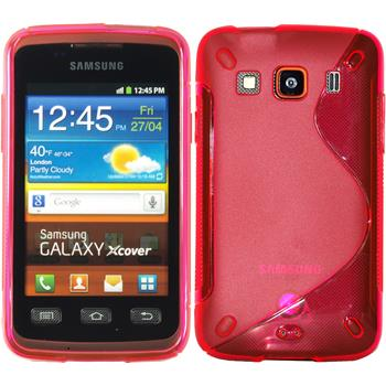 Silikon Hülle Galaxy Xcover S-Style pink