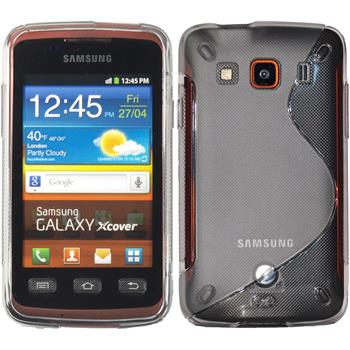 Silicone Case for Samsung Galaxy Xcover S-Style transparent