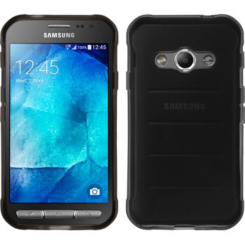 Silicone Case for Samsung Galaxy Xcover 3 transparent black