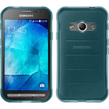 Silicone Case for Samsung Galaxy Xcover 3 transparent turquoise