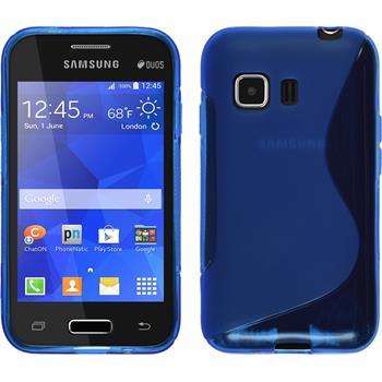Silikon Hülle Galaxy Young 2 S-Style blau