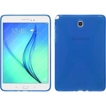 Silikon Hülle Galaxy Tab A 8.0 X-Style blau