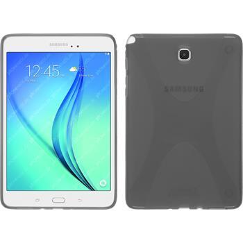 Silikon Hülle Galaxy Tab A 8.0 X-Style grau