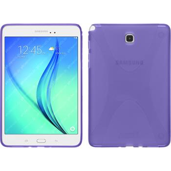 Silikon Hülle Galaxy Tab A 8.0 X-Style lila